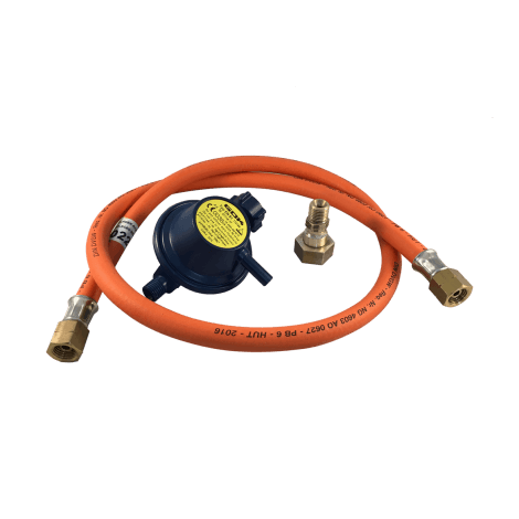 Set aus Gasschlauch und Druckregler für Plancha Eno