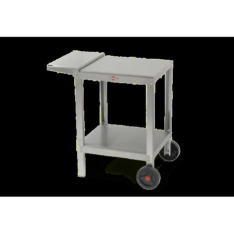Kompakter Edelstahl-Wagen