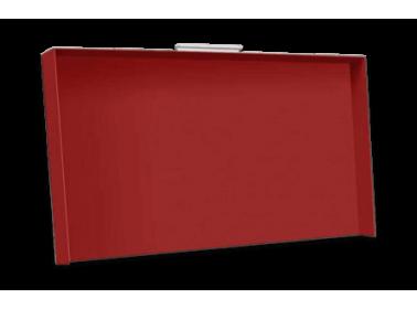 Abdeckung für Plancha Rainbow Rot