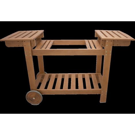 Holzwagen für Plancha-Simogas